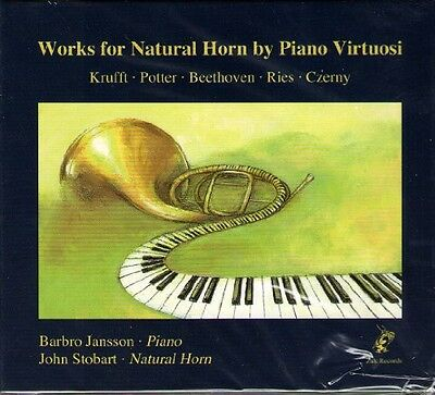 Works For Natural Horn By Piano Virtuosi - Potter/Beethoven/Ries/ (2010, CD New)