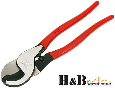 """10""""  Cable Cutter Copper Aluminium Wire Cutter Pliers Up To 60mm²  T0045"""