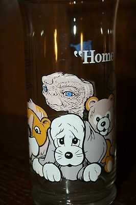 """VINTAGE! 1982 Pizza Hut ET Limited Edition Collector Series Glass-""""Home"""""""