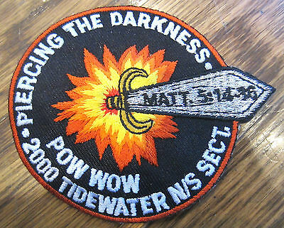 Piercing The Darkness Pow Wow Tidewater Royal Rangers Rr Uniform Patch