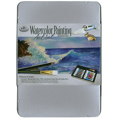 Artist's Watercolour Painting Art Set in Gift Tin by Royal and Langnickel