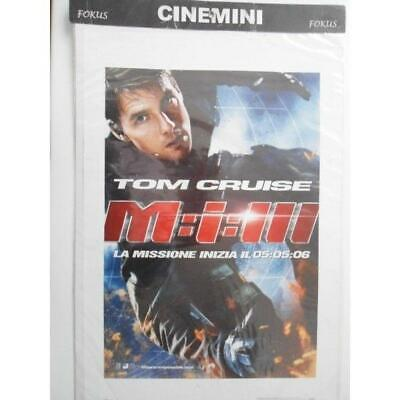 Poster Locandina Cinematografica Film Mission Impossible 3 Cinemini