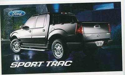 2004 Ford Explorer Sport Trac Pickup Truck ORIGINAL Factory Postcard my0946