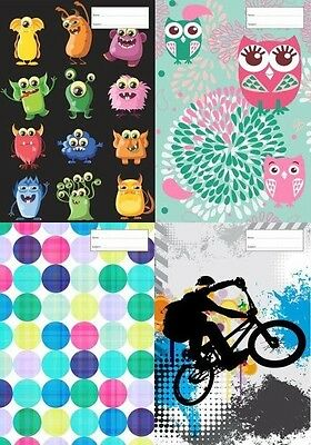 Reusable School Book Covers. Scrapbook many Designs