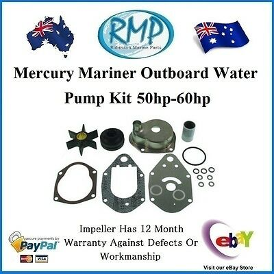 A Brand New Mercury Mariner Outboard Water Pump Kit 50hp-60hp # 46-812966A11