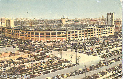 Antigua Postal Año 1959 Estadio Santiago Bernabeu Real Madrid Futbol     Cc00053