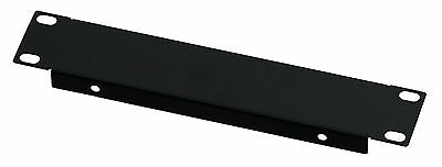 1U Half-Rack 10.5 inch 266mm Folded Blank  Steel DJ Rack Panel  Rack Mounting