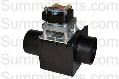 3 Inch, 220V, Drain Valve No Overflow Long Port For Milnor Washers - 96D350A71