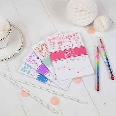Personalised Childrens Activity Pack   CONFETTI   Kids Wedding Favour Gift