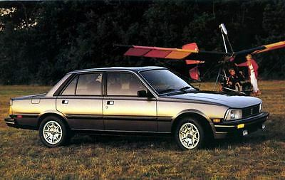 1986 Peugeot 505 Turbo ORIGINAL Factory Postcard my1219