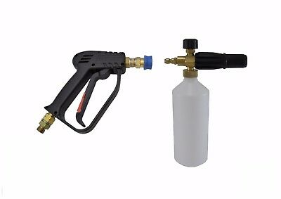 "Compact Quick Release 11.6mm Wash Gun & Snow Foam Lance 3/8""M Inlet"
