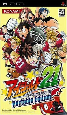 Used PSP Eyeshield 21 Portable Edition  Japan Import ((Free shipping))