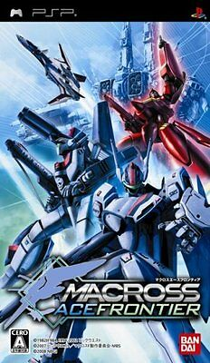 Used PSP Macross Ace Frontier  Japan Import ((Free shipping))
