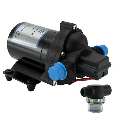 Shurflo RV Water Pump 12V 3.0 Gpm 4008-101-A65 with Strainer Free Shipping