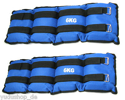 Arm - and Ankle weights, 2,3,4,5,6,8kg pro Set