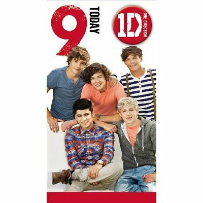 One Direction Happy Birthday Daughter Card New 129 Picclick Uk