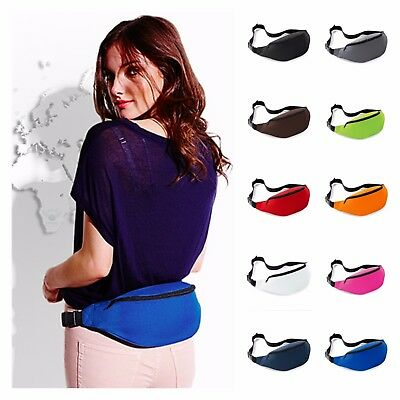 Belt Bum Bag Waist Money Pouch Hip Fanny Pack Purse Holiday Travel Dog Treat Bag