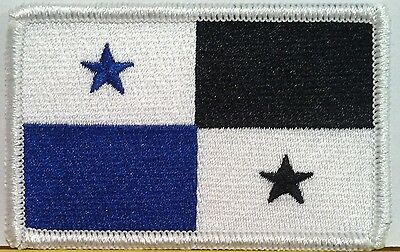 PANAMA Flag  Iron-On Combat Patch Biker Shoulder Emblem Tactical Military #8701