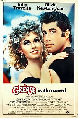 Grease Classic Large Movie Poster Art Print A0 A1 A2 A3 A4 Maxi