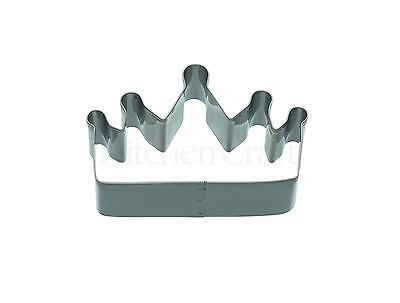 Kitchencraft Fairy Princess Crown Shape Metal Biscuit/Cookie Cutter Home Baking