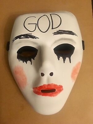 The Purge Anarchy 2 Mask Halloween Fancy Dress Costume Horror God 'UK SELLER'