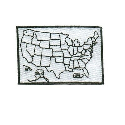 States Traveled Patch Small