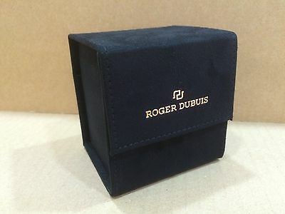 Roger Dubuis - Black - Service Travel watch pouches mint in Condition .