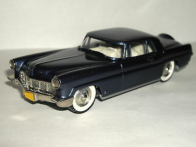 BROOKLIN MODELS 1956 LINCOLN CONTINENTAL MK II COUPE BLUE METALLIC 1/43 BRK11