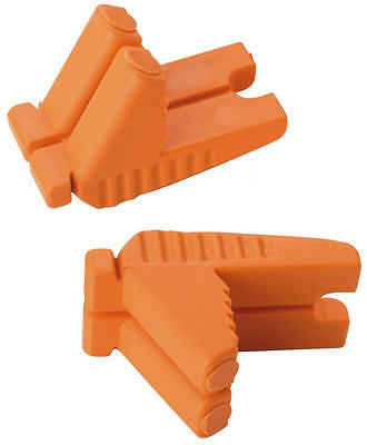 Spear & Jackson Robust Brickies RUBBER Corner L Shape Brick Line Blocks,SJRLBOY