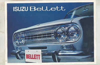 1963 Isuzu Bellett Brochure wu5881