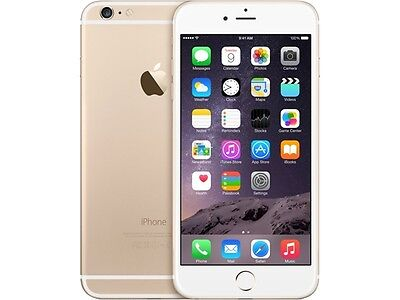 Apple iPhone 6 Plus Gold 4G LTE Dual-Core 1.4GHz 16GB 4G LTE Unlocked GSM Cell P
