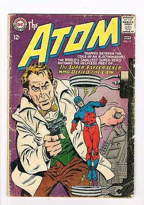 Atom # 15 Illusions for Sale! scarce kane cover! grade - 2.5 Silver Age DC!