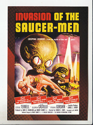 INVASION OF THE SAUCER-MEN (1957) 2007 BREYGENT CLASSIC SCI-FI MOVIE POSTER CARD