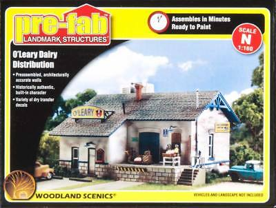 NEW Woodland Scenics O Leary Dairy Distribution N PF5205