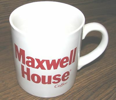 Vintage MAXWELL HOUSE Corporate Collector Drink/Coffee Mug/Cup RARE UNUSED MINT