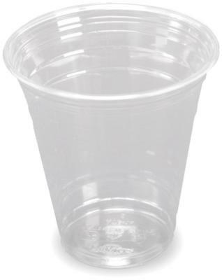 1.000 Clear Cup Becher Plastikbecher  Slush - Becher 300ml (12oz) Trinkbecher