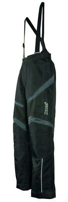 Men's Mossi Mantis Snowmobile Bibs Pants Winter Weatherproof Waterproof Black