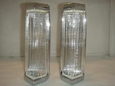 Lincoln Town Car 80/84 Turn Signal Assembly , 80-83 Lincoln Mark Parklamp (PAIR)
