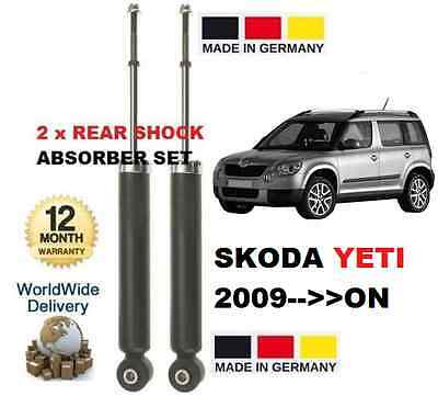 SKODA YETI 2009--  1.2 1.4 1.6 1.8 1.9 2.0 NEW 2x REAR SHOCKS ABSORBER SET