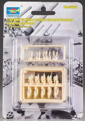 NEW Trumpeter 1/200 WWII US Military Accepted Surrender 6632