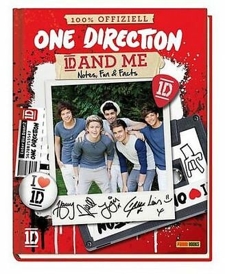 ONE DIRECTION FANBUCH 1D AND ME - Notes, Fun & Facts NEU & KEIN PORTO