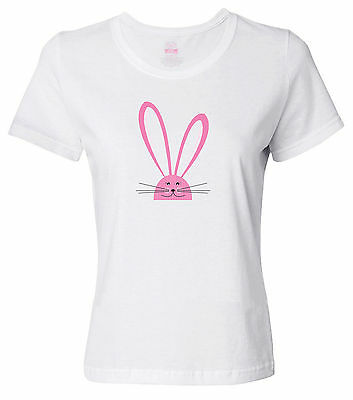 Easter Pink Bunny - Celebrate Easter - Women's T-Shirt