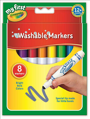 Crayola My First  Brand New Washable Marker Ideal for Little kids New