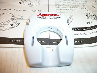 1 New AGGRENOX Drug Rep Stethoscope Light-W/Instructions & Pull Tabs