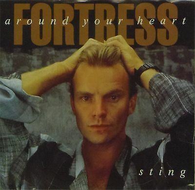 """STING 'FORTRESS AROUND YOUR HEART' US IMPORT PICTURE SLEEVE 7"""" SINGLE"""