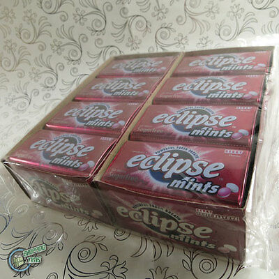 16x 50pcs Eclipse Mint Berry Metal Tin Box Wrigley's Sugarfree Wrigley Red
