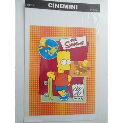 Poster Locandina Burt The Simpsons