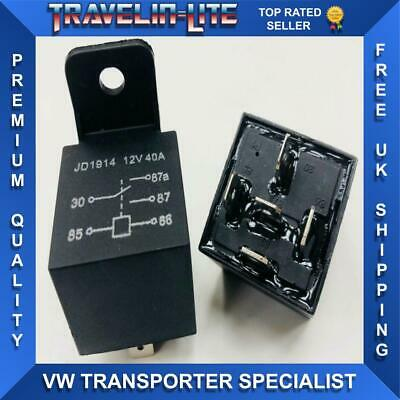 12V 40 Amp Relay 5 Pin Best Quality Waterproof Automotive Car Van Boat New
