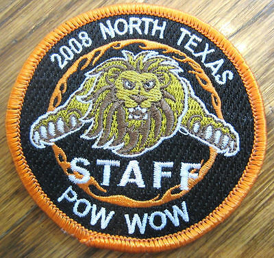 ROYAL RANGERS VINTAGE PATCH RR 2008 NORTH TEXAS POW WOW LION KING OF BEASTS
