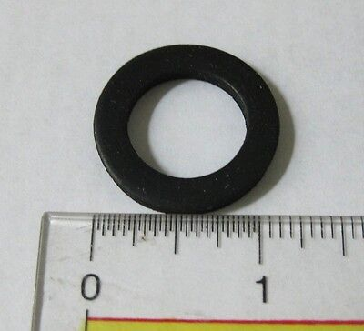 "Pkg/4, 3/4"" EPDM Rubber Water Meter Gasket Washer for 5/8 x 3/4 & Full 3/4 Meter"